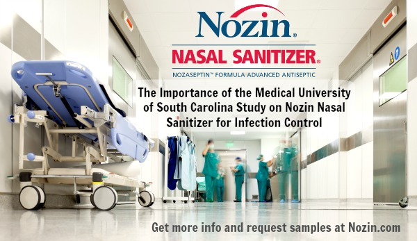 Importance of the MUSC Study on Nozin Nasal Sanitizer for Infection Control